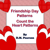 Friendship Day Patterns! Count the Heart Patterns