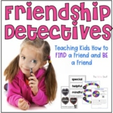 Friendship Detectives Learning & Lapbook Set