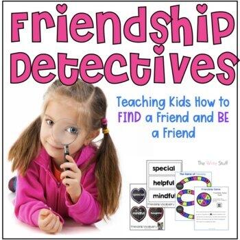 Friendship Detectives Valentine's Day Kindness