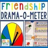 Friendship Drama-O-Meter Poster & Activity for Relational Aggression