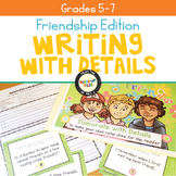 Friendship Writing Task Cards