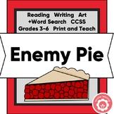 Friendship Lesson: Enemy Pie CCSS Grades 3-6