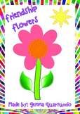 Friendship Flowers - Social Skills Activity