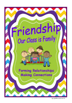 Friendship-Forming Relationships Making Connections for Back to School