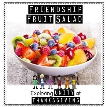 Friendship Fruit Salad - Exploring Unity at Thanksgiving