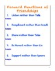 Friendship Functions Lesson Plan