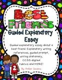 Friendship Guided Explanatory Essay