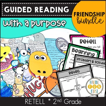 Friendship Guided Reading Activities
