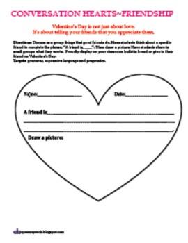 Friendship Hearts for Valentine's