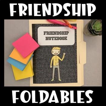 Social Skills Interactive Notebook (Friendship)