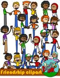 Friendship Kids Clip art