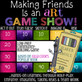 Julia Cook's MAKING FRIENDS IS AN ART *Friendship Lesson Classroom Game