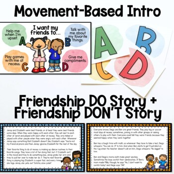 Friendship Lesson and Activities
