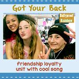 Friendship interactive unit: with social skills pop song: classroom community