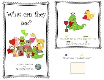 Valentine's Day, Friendship, Love Reading Comprehension adapted books (BUNDLE)