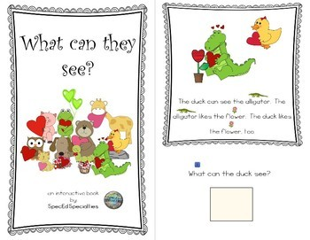 Valentine's Day, Friendship, Love Reading Comprehension adapted books (Level 3)