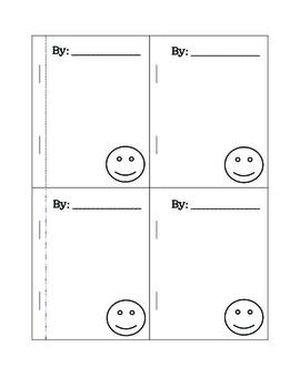 Friendship Mini Book - Freebie!