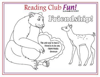 Friendship Mini-Posters (Valentine's Day)