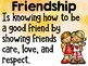 Friendship - Monthly Character Education Pack