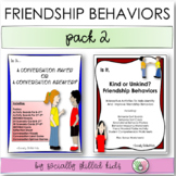 FRIENDSHIP BEHAVIORS  Pack 2 {Differentiated Activities For K-5th Grade}
