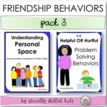SOCIAL SKILLS: Friendship Pack 3 {Differentiated For k-5th Grade or Ability}