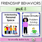 FRIENDSHIP BEHAVIORS Pack 3 {Differentiated Activities For K-5th Grade}