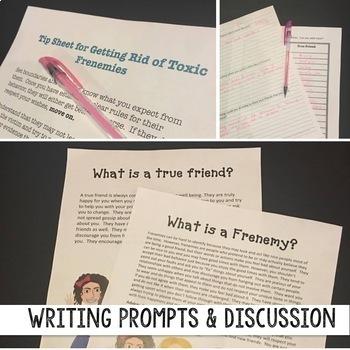 Friendship Lessons *No More Classroom Drama