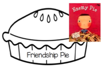 Friendship Pie- Enemy Pie Activity