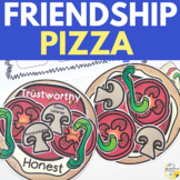 Friendship Pizza Elementary Counseling Friendship Craft an