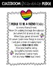 Friendship Pledge and Bracelets