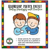 Friendship Poetry Packet