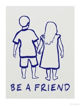 Friendship: Be a Friend Poster