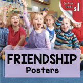 Friendship Posters and Writing Prompt - Character Educatio