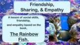 "Rainbow Fish Friendship Lesson w ""Rainbow Fish"" video PBIS"