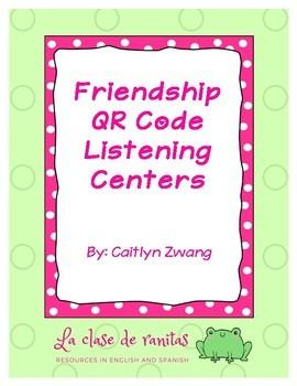 Friendship QR Code Listening Centers