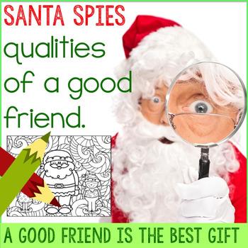 Friendship Qualities Christmas Theme