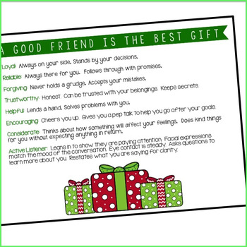Friendship Qualities Posters