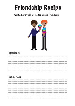 Friendship Recipe