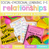 Friendship & Relationships - 3-5 Social Emotional Learning & Character Education