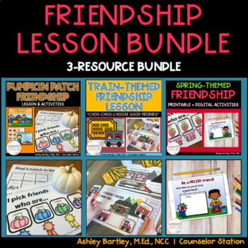 Friendship Resource 3-Resource Bundle from Counselor Station