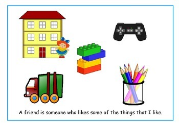 Friendship Resources - 'What is a Friend?' Social Story and Worksheets