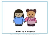 Friendship Resources - 'What is a Friend?' Social Story an