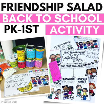 Friendship Salad Activity for Back to School