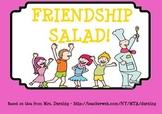 Friendship Salad SMARTBoard Lesson