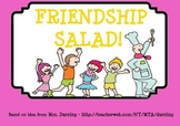 Friendship Salad SMARTBoard Lesson