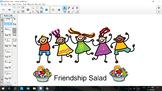 Friendship Salad SmartNotebook