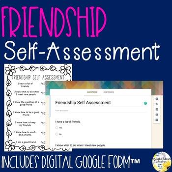 Friendship Self-Assessment