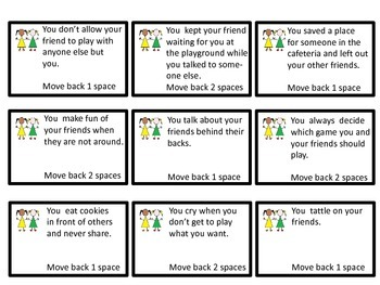 Friendship Skills Board Game