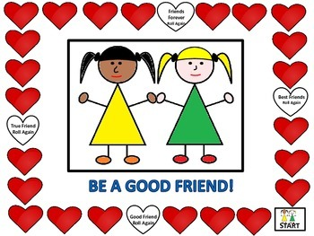 Friendship Skills Board Game
