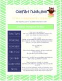 Friendship Skills - Conflict Resolution